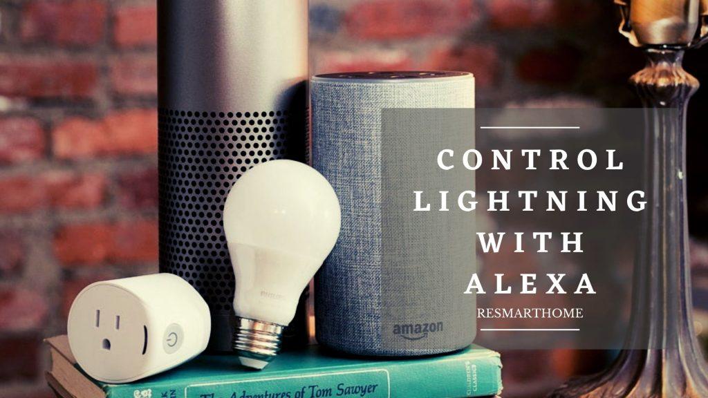 Control Lights With alexa